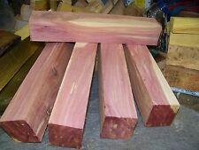 Eastern Red Cedar Turning Blank Call Board  Aromatic Bow Cue Craft Turkey 1 1/2'