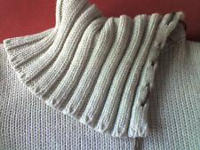 Tally Weijl Damenpulli mit tollem Kragen Beige Gr.L