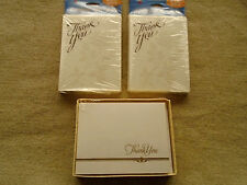 Lot of 3 NWT American Greetings Thank You Cards – See Full Description