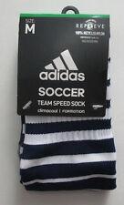 Men's Adidas Soccer Socks, New Navy Blue Formotion Climacool Socks Sz M (5-8.5)