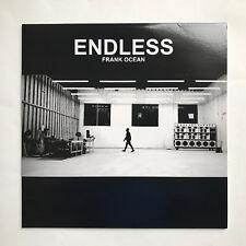 FRANK OCEAN - ENDLESS * LP CLEAR VINYL * FREE P&P UK * B01KU5VKY4 * NEW * PROMO