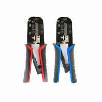 RG45/11Network RJ45 Crimping Tool Crimp Crimper Cable Cutter Plier New