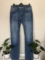 Gant Men's Jeans Waist 36 L36 low waist narrow fit blue vintage style 3