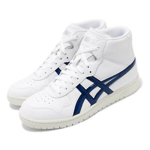 Asics Japan L White Midnight Navy Men Sportstyle Basketball Shoes 1191A270-100