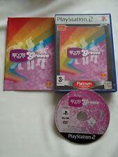JEU PLAYSTATION 2 - PS2 - EYE TOY  GROOVE PLATINIUM - BON ETAT (AVEC SON LIVRET)