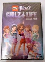 LEGO Friends Girlz 4 Life DVD Original Movie 2016 New Sealed Bonus Features Incl