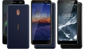 "Nokia 3.1 (TA-1057) 4G Unlocked Smartphone 5.2"" 13MP 16GB mix GRADE"