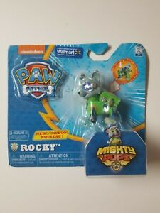 Paw Patrol Mighty Pups Rocky Exclusive Figure