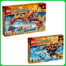 Lego 70146 Phoenix Feuertempel + Lego 70225 Bladvics Grollbär Chima NEU & OVP
