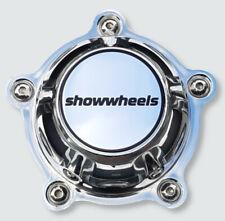 4 x Centre caps fits Showwheels wheels Streeter Coys C5 C55 C67 American Legend