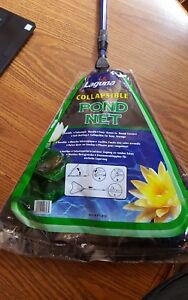 """Laguna Collapsible Coarse Mesh Pond Net with 18-33"""" Telescoping Handle  j"""