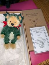 Deb Canham Dilly Dragon Ltd Edition Bear 28 Of 200 Nwt 3.5� Dress Up