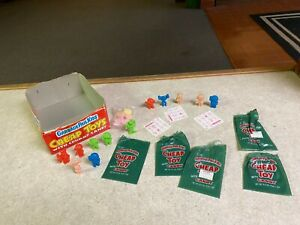 Vintage Topps 1986 Garbage Pail Kids Cheap Toys & Crummy Candy LOT Set of 12
