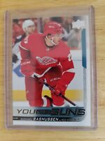 2018-19 Upper Deck Series One YOUNG GUNS RC Michael Rasmussen Detroit Red Wings