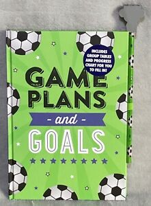 Game Plans & Goals - Football - Notebook & Pencil - Brand New
