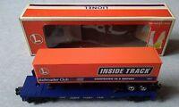 Lionel O Gauge 1997 Railroader Club Flatcar With Trailer #6-19437 ~ TSL