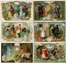 Chromo Liebig Sang. 391 TED Opere di Autori Vari II ANNO 1893