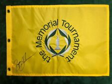 Bryson DECHAMBEAU Signed USA Muirfield Memorial Golf Flag 1 Autograph AFTAL COA