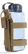 Lightweight Tactical Bottle Carrier Modular Molle coyote brown Rothco 2110