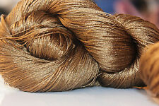 1 Skein - 1500 Meters - 100% Silk Hand Embroidery Thread - Shiny Hand Dyed AM29