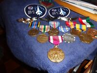 US ARMY LOT OF 8 U.S. MILITARY MEDALS US  X 9 FULL SIZE  101 AIRBORNE