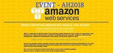 $100 aws amazon web service credits EC2 SQS RDS [AH EVENT]NON EDU CODE