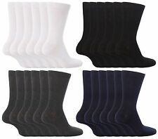 6 Pair Pack Boys Girls Back to School Ankle Socks Black,Grey,Navy,White