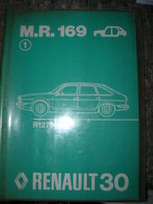 RENAULT 30 - R30 MANUEL REPARATION MR 169 OCCASION ORIGINE D'EPOQUE