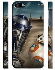 Star Wars R2-D2 BB-8 Droid Iphone 4s 5 6 7 8 X XS Max XR 11 Pro Plus Case 158