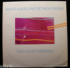 ♫ MAXIS 45 T  VINYL DAVID BOWIE AND PAT METHENY GROUP ♫
