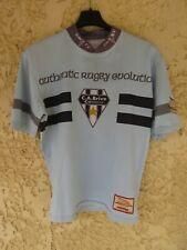 Maillot rugby C.A BRIVE CORREZE Force XV shirt rare moulant L