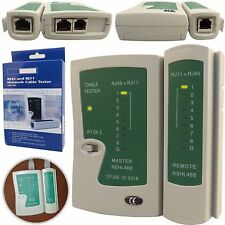 RJ45 Cat6e Cat5e Network Ethernet UTP STP Lan PC Wire Cable Tester Testing Tool