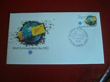 AUSTRALIA - 1983 WORLD COMMUNICATIONS YEAR - FIRST DAY COVER -  EX. CONDITION