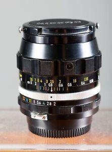 Nikon Nikkor-N 28mm F2.0 Non-Ai Premium Wide Angle Lens. Tested/Guaranteed