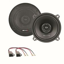 MB Quart QX130 2 Wege Lautsprecher Boxen System Einbauset Golf 1 Cabrio vorne
