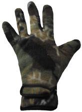 Camo gloves, medium large size, green, fishing hunting camouflage woodland NEW