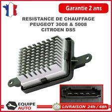 Résistance Moteur Ventilateur Chauffage pour Peugeot 3008 5008, Citroen DS5 1.6
