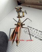 Steampunk DIY Metal Crafts Mechanical Insect Mantis Handicraft Pieces