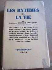 """Professeur Laignel-Lavastine: Les rythmes et la vie/ Plon """"Présences"""", 1947"""