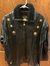Marshall- Rousso Woman's Leather Motorcycle/Biker Jacket
