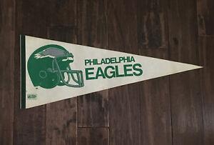 Vintage Philadelphia Eagles Felt Pennant 1970s-1980s
