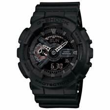 Casio ga110mb-1a Gent Negro Correa Ana-digi Negro Dial Dive Watch