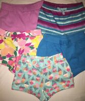 NWT Gymboree Girls Shorts Lot of 5 size 18-24months Elastic Waist Pull On $85