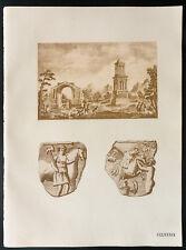 1926 - Lithographie antiquités romaines