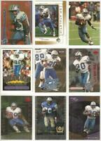 Barry Sanders Detroit Lions 9 card 1999 insert lot-all different