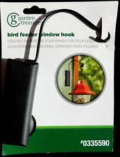 Garden Treasures Window Hook, Nip, Bird Feeder, Plant Hanger, Wind Chimes
