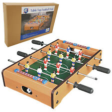 BRAND NEW TABLETOP DESKTOP FOOTBALL SOCCER MINI TABLE GAME FUN TOY KIDS GIFT