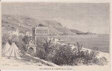 1884  --  VUE GENERAL DU LAZARET DE LA LATTA    3J433