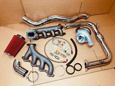 T4 Hot Parts + Downpipe Turbocharger Kit Vortec V8 Lsx 4.8 5.3 6.0 6.2 Turbo
