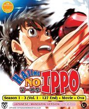 Hajime No Ippo Season 1-3 | TV Series + Movie + OVA | DVD | Eng Sub